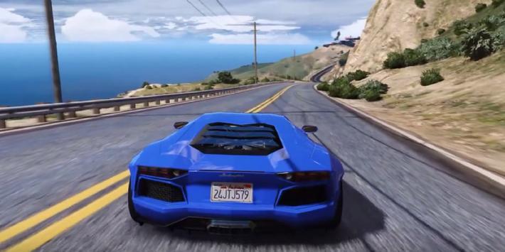 Supercar Aventador Driving 3D apk screenshot