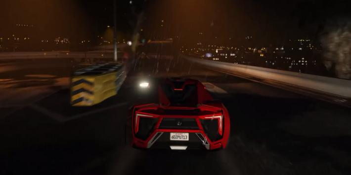 Lykan Driving Hypersport 3D apk screenshot