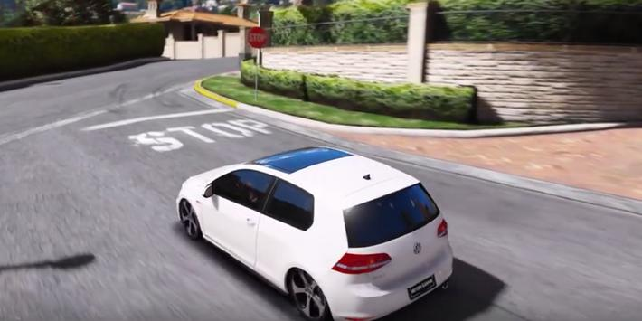 Golf GTI Driving Simulator 3D apk screenshot