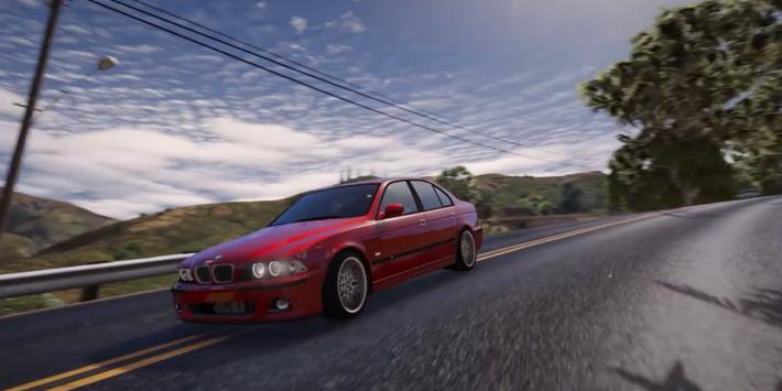 M5 E39 Driving BMW Simulator apk screenshot