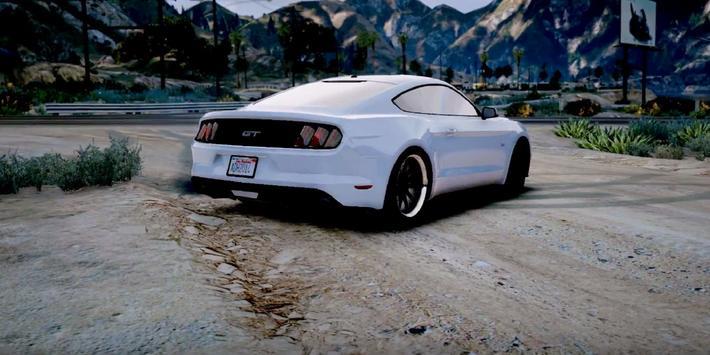 Driving Mustang Simulator 3D poster