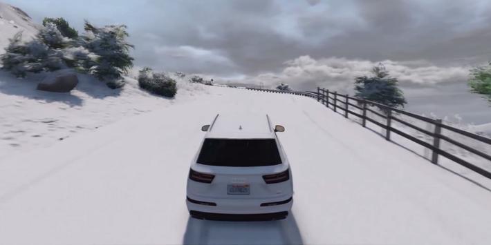 Q7 Driving Audi Simulator 2017 apk screenshot