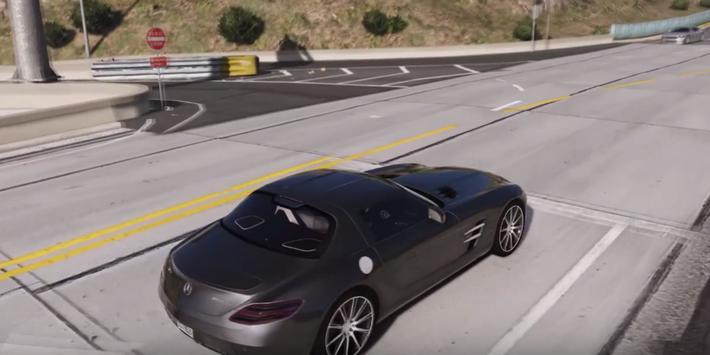 SLS AMG Driving Simulator 3D apk screenshot