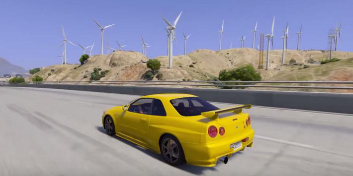 Skyline Driving GT-R Simulator apk screenshot