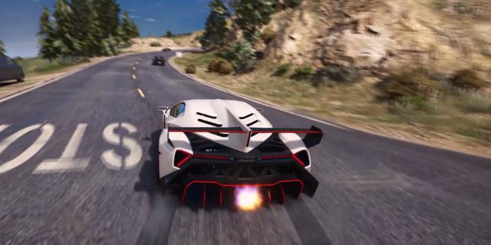 Veneno Driving Lamborghini 3D apk screenshot