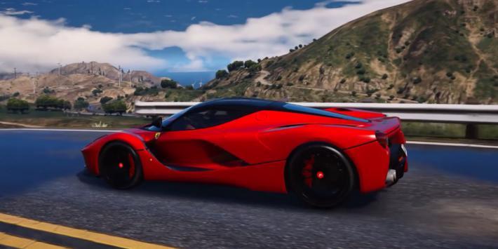 Driving LaFerrari Simulator poster