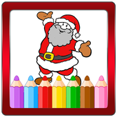Christmas Drawing Book icon