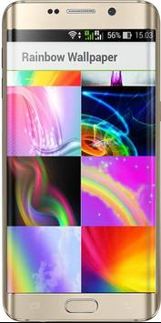 Rainbow color wallpaper screenshot 1