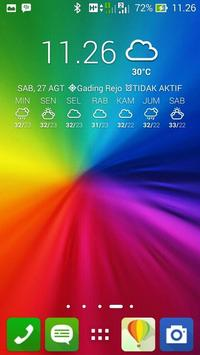 Rainbow color wallpaper screenshot 9
