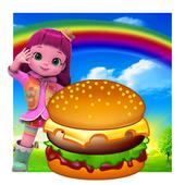 Rainbow! Ruby Burger Shop icon