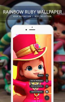 Rainbow Ruby Wallpaper screenshot 4