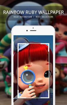 Rainbow Ruby Wallpaper screenshot 5