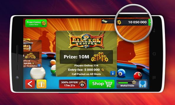 Coins 8 Ball Pool Tool - Guide poster