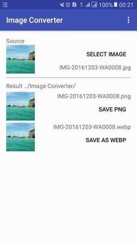 Image Format Converter : PNG to JPG to GIF to WEBP screenshot 4