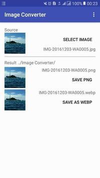 Image Format Converter : PNG to JPG to GIF to WEBP screenshot 3