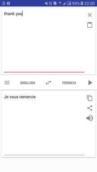 French English:translate translator pronunciation screenshot 2