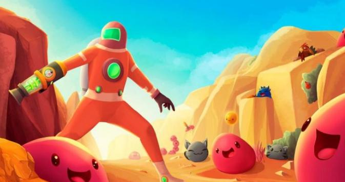 Free Slime Rancher Guide poster