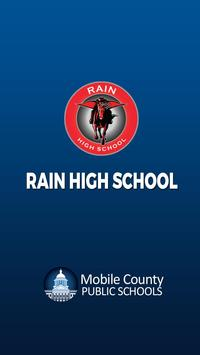 Rain High School poster