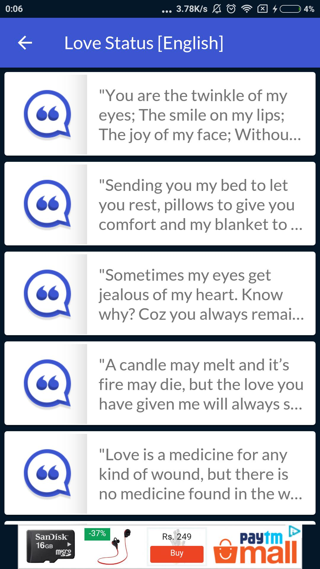 Malayalam Status App - Image and Text Messages for Android
