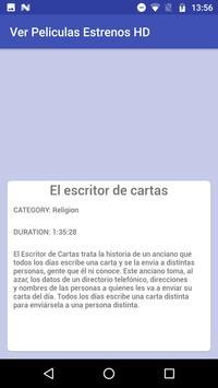 Ver peliculas Estrenos HD apk screenshot