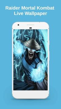 Raider Mortal Kombat Live Wallpaper poster