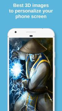 Raider Mortal Kombat Live Wallpaper screenshot 1
