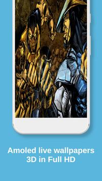 Raider Mortal Kombat Live Wallpaper screenshot 2