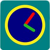 Doodle Clock Widget icon