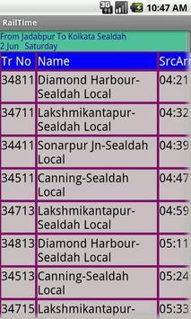 Kolkata Suburban Trains screenshot 2