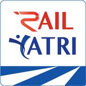 भारतीय रेल पीएनआर स्थिति, ट्रेन स्थिति, खाना, टिकट आइकन