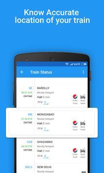 भारतीय रेल पीएनआर स्थिति, ट्रेन स्थिति, खाना, टिकट पोस्टर