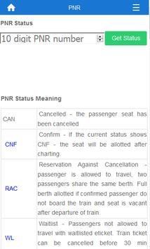 Indian Rail Train Info screenshot 2