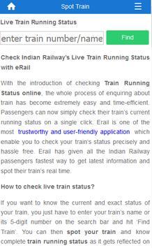 Indian Rail Train Info screenshot 3