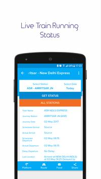 Indian Railway IRCTC Ticket Live Train Status apk screenshot