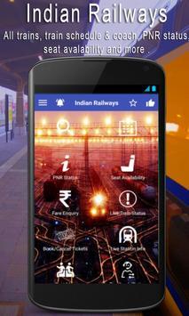 Check PNR Status India Railway poster