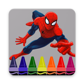 Heroes Coloring Pages icon