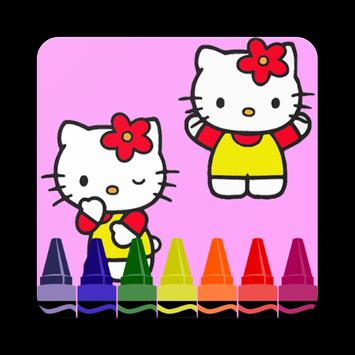 Coloring Book For Kitty Fans apk screenshot
