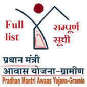 PM Awas Gramin Latest List icon