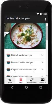 Indian Raita Recipes poster