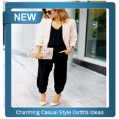 Charming Casual Style Outfits Ideas icon