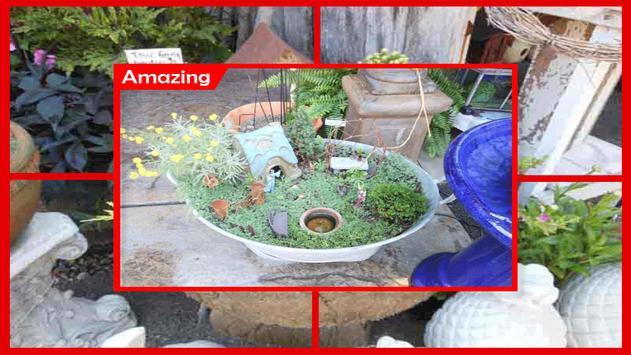 Miniature Gardens Ideas apk screenshot