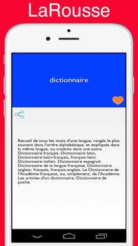 Dictionnaire français Larousse screenshot 2