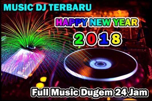 Latest Dj Music Happy New Year poster