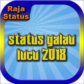 Status Galau Lucu 2018 icon