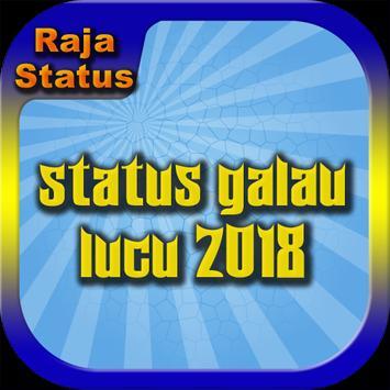 Status Galau Lucu 2018 poster