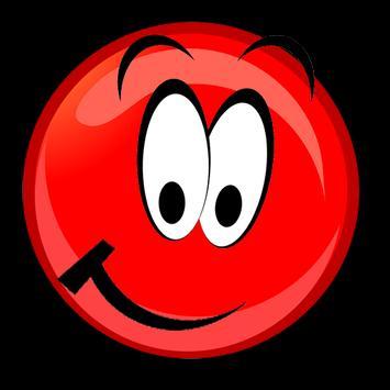 Red ball bouncing world screenshot 2