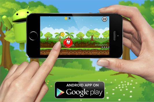Red ball bouncing world screenshot 4