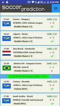 Soccer Prediction screenshot 3