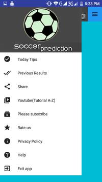 Soccer Prediction screenshot 1
