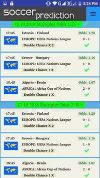 Soccer Prediction screenshot 2